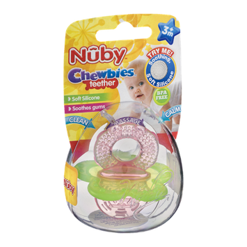 Nuby Chewbies Teether 3m+