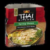 Thai Kitchen Soup Bowl Rice Noodle Spring Onion