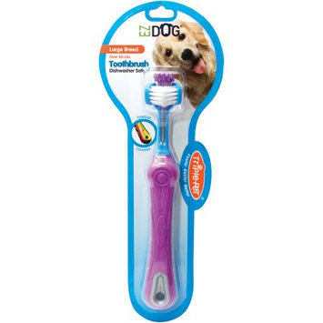 Benedent Triple Pet EZDOG Toothbrush for Large Breed Dogs