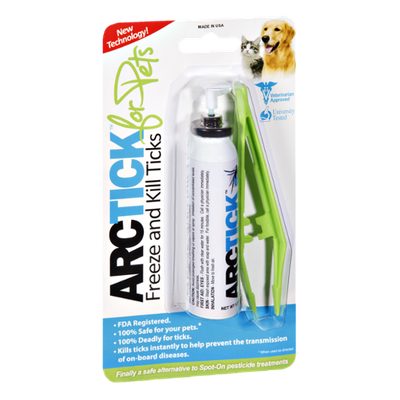 Arctick for Pets Freeze and Kill Ticks