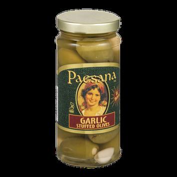 Paesana Garlic Stuffed Olives