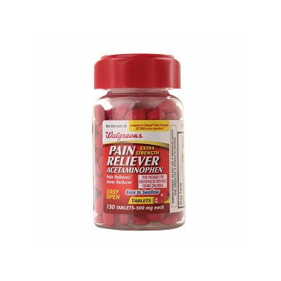Walgreens Pain Reliever Extra Strength Easy Tabs