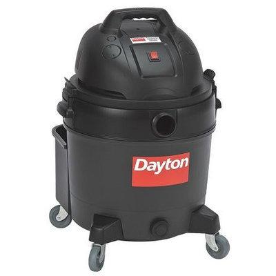 DAYTON 6AKZ0 Wet/Dry Vacuum,4 HP,16 gal,120V