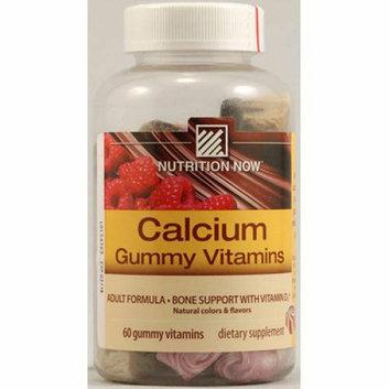 Nutrition Now Calcium Gummy Vitamins Assorted 60 Gummies