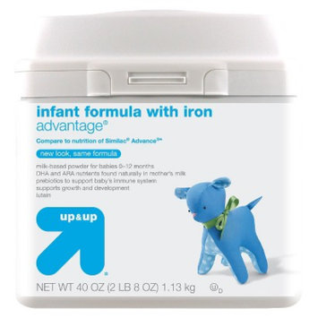 up & up Infant Formula Advantage - 40oz