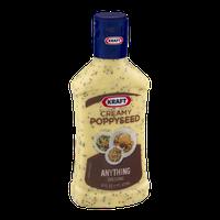 Kraft Anything Dressing Creamy Poppyseed