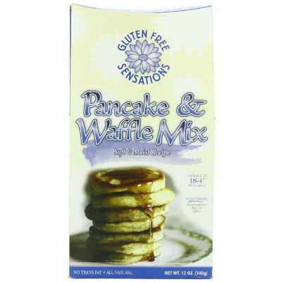 Gluten Free Sensations Pancake Waffle Mix, 13-Ounce (Pack of 3)