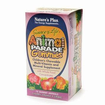 Nature's Plus Animal Parade Gummies Children's Chewable Multi-Vitamin