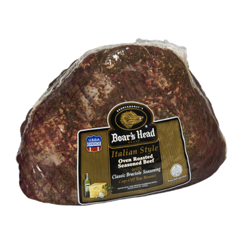 Boar's Head Seasoned Beef Oven Roasted Italian Style