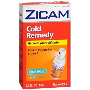 Zicam Cold Remedy Homeopathic Oral Mist