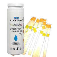 Alkazone Accurate Check Ph Test Strips for Water, 50 Count
