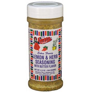 Fiesta Brand Extra Fancy Lemon & Herb Seasoning with Butter Flavor, 11 oz