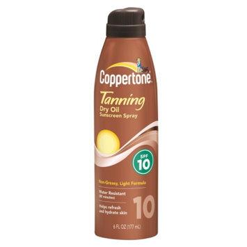 Coppertone Continuous Dry Oil Spray Sunscreen