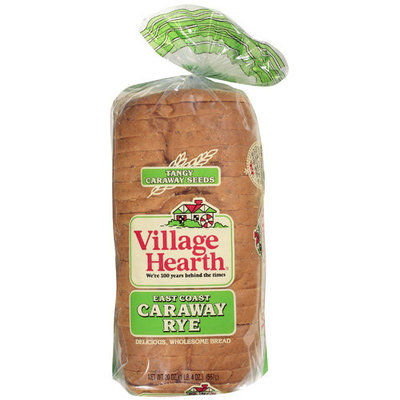 Village Hearth East Coast Caraway Rye Bread, 20 oz