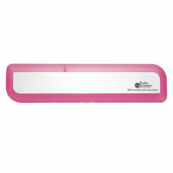 Zadro Health Solutions Pink Ultraviolet Toothbrush Sanitizer