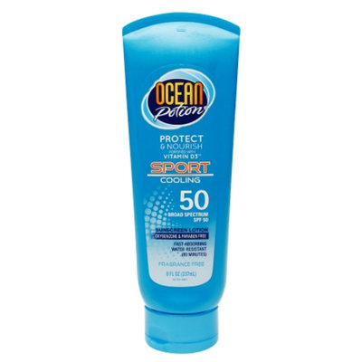 Ocean Potion Suncare Cool Dry Touch Sport Sunscreen Lotion
