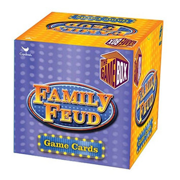 Family Feud Trivia Box Card Game