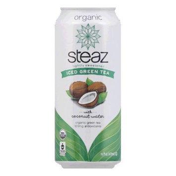 Steaz Energy Steaz Green Tea 18oz Pack of 12