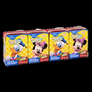 Disney Tummy Tickler 100% Real Apple Juice No Sugar Added 4.23 fl. oz. - 4 Pack