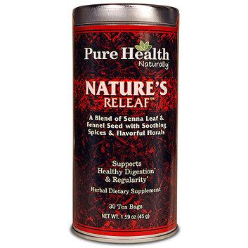 Pure Health Nature's Releaf Tea Herbal Dietary Supplement