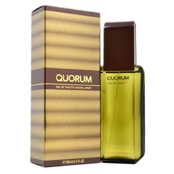 Antonio Puig Quorum Quorum Eau De Toilette Spray 3.4 oz