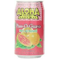 Aloha Maid Juice Pass-O-Guava, 11.5-Ounce (Pack of 24)
