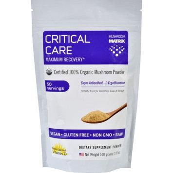 Mushroom Matrix - Critical Care Organic Mushroom Powder - 3.57 oz.