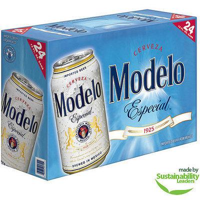 Modelo Especial Beer, 12 fl oz, 24 pack
