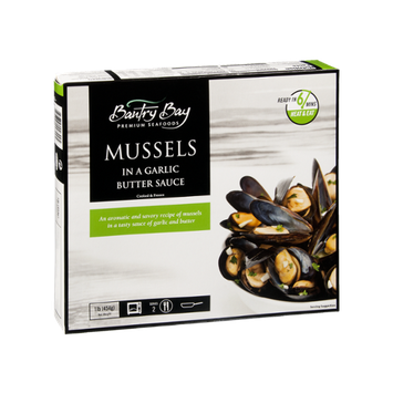 Bantry Bay Premium Seafoods Mussels in Garlic Butter Sauce