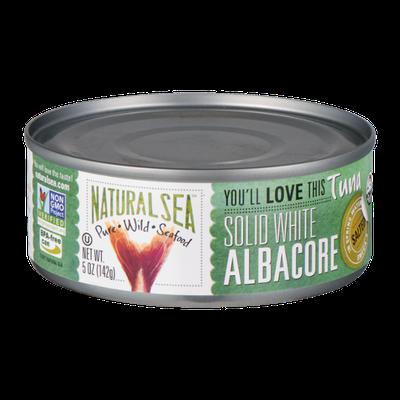 Natural Sea Solid White Albacore Tuna