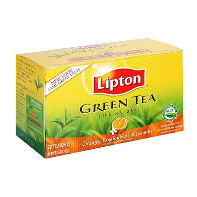Lipton® Orange Passion Fruit & Jasmine Green Tea Bags
