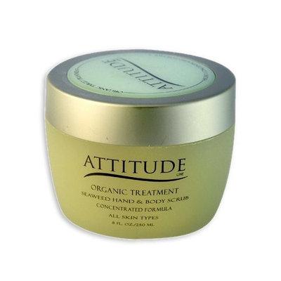 Attitude Line Organic Hand Scrub (Seaweed), 14-Ounce