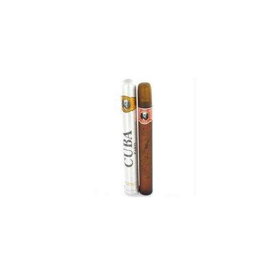 Fragluxe Gift Set -- Cuba Variety Set includes All Four 1. 15 oz Sprays  Cuba Red  Cuba Blue  Cuba Gold and Cuba Orange