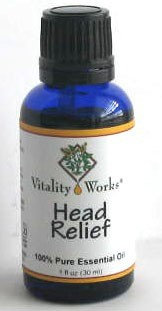 Head Relief Essential Oil Vitality Works 1 oz Oil