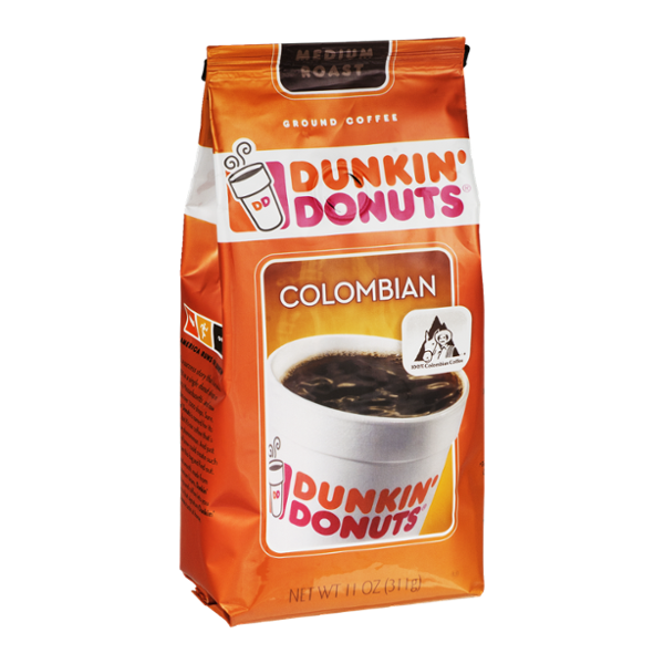 Dunkin' Donuts Ground Coffee Colombian Medium Roast