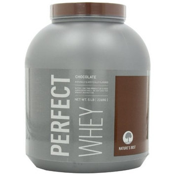 Nature's Best Natures Best Perfect Whey Protein, Chocolate, 5-Pound Tub