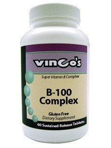 B-100 Complex 60 tabs by Vinco