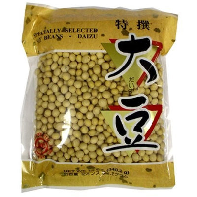 Wel-Pac Wel Pac Saizu Soy Beans, 12-Ounce (Pack of 8)