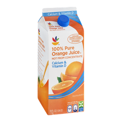 Ahold 100% Pure Orange Juice Not from Concentrate Calcium & Vitamin D