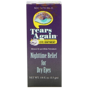 Ocusoft Tears Again Eye Ointment, Sterile Lubricant, Nighttime Relief for Dry Eyes, 5g (Pack of 6)