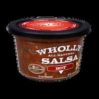 Wholly Salsa Hot All Natural