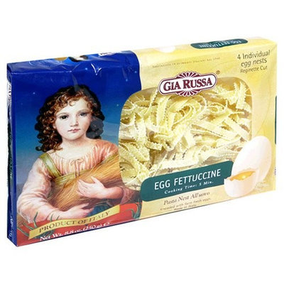 Gia Russa Egg Fettuccine, 8.8-Ounce Packages (Pack of 6)