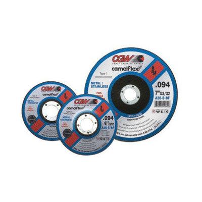 CGW Abrasives Thin Cut-Off Wheels - 7x3/32x5/8-11 a36-s-bf t27 cutoff wheel