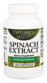 Natures Vision Nature's Vision - Spinach Extract 750 mg. - 100 Capsules