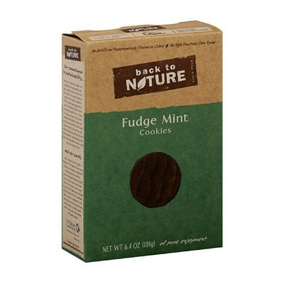 Back To Nature Fudge Mint Cookies