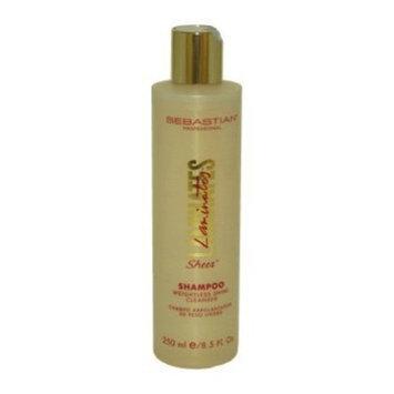 Sebastian Laminates Sheer Shampoo for Unisex, Weightless Shine, 8.5 Ounce