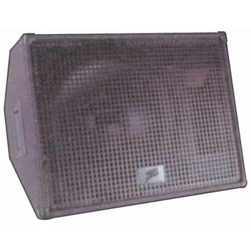 Audio Pipe Audiopipe MSZ1250 Dj Speaker 12in 2-Way Monitor Style Zebra