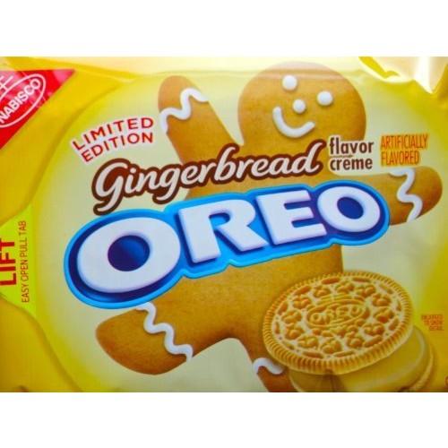 Nabisco Oreo Gingerbread Flavor Cremes