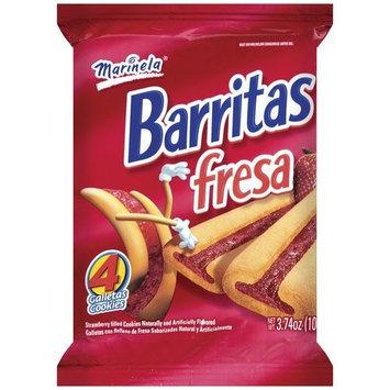 Sweet Baked Goods Barritas Strawberry Marinela Cookies, 3.74 oz, 4ct