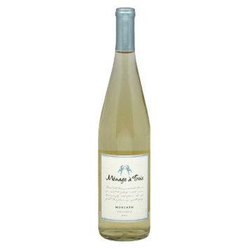 Menage A Trois Menage a Trois California 2010 Moscato Wine 750 ml